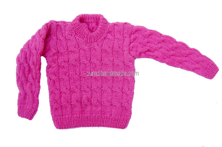 Purna Handmade Collection: Woolen Sweater