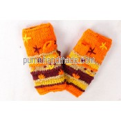 Purna Handmade Collection: Woolen Glove Plant Design